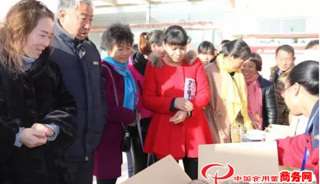 河南:灵宝菇农组团到昌盛香菇基地参观交流