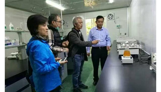 台湾菇类发展协会到福建九湖食用菌研究所考察交流