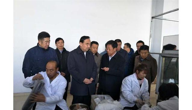 内蒙古:呼和浩特市委书记云光中到耗赖山乡调研食用菌生产情况