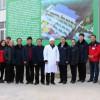 河南:三门峡市出入境检验检疫局领导到昌盛香菇基地实地考察