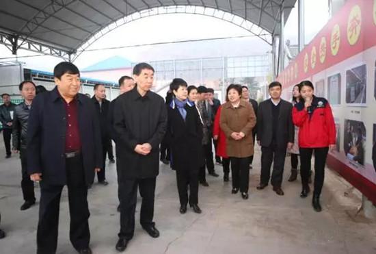 河南省副省长王铁莅临昌盛公司调研