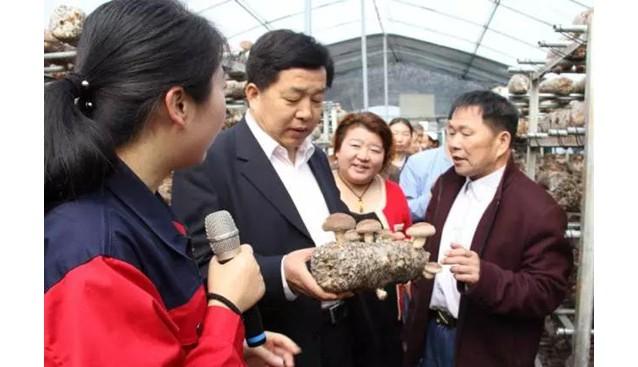 河南:国家食用菌改良中心中原香菇良种繁育基地揭牌仪式在昌盛公司隆重举行