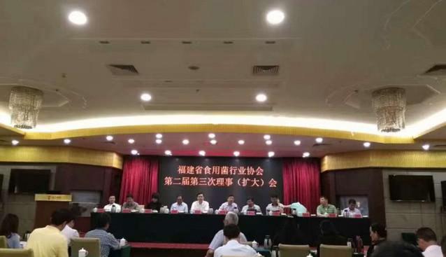 福建省食用菌行业协会第二届第三次理事(扩大)会在漳州芗江酒店召开