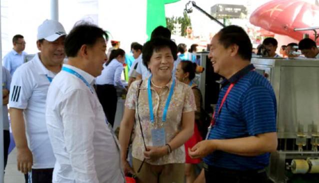 山西:忻州市宁武县组团参加河北省食用菌产业发展大会