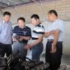 食用菌技术专家刘德育参观考察山东惠民齐发果蔬食用菌基地