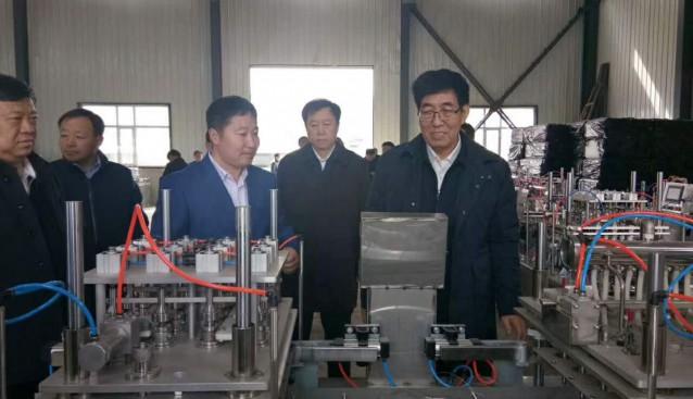 吉林:省委书记巴音朝鲁一行赴富森科技集团调研考察