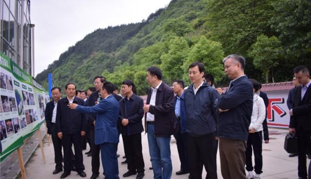 """贵州:2018年贵州省第一次项目建设现场观摩会走进""""剑河珍源"""""""