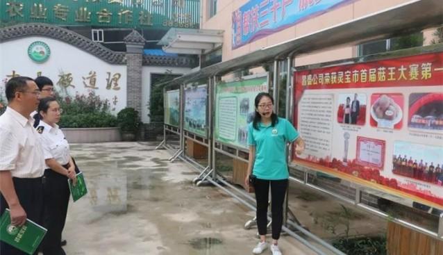 河南:三门峡海关(原检验检疫局)副局长杨兴富一行莅临昌盛公司考察