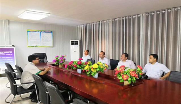 河南:农业厅省农牧局领导莅临濮阳天耕农业检查指导工作