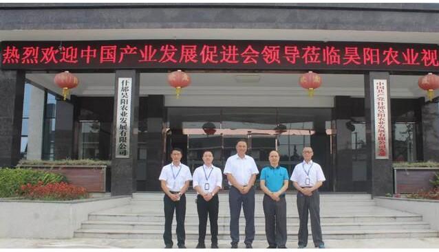 中国产业促进会副会长李小军一行莅临昊阳农业调研考察