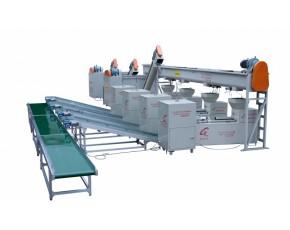 浙江供应食用菌机械、食用菌菌棒自动化生产流水线PLC