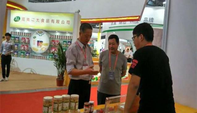 河南:九龙农业羊肚菌系列产品在农交会上广受好评