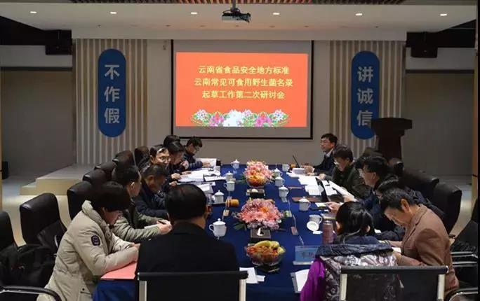 云南省召开《常见野生食用菌名录》地方标准起