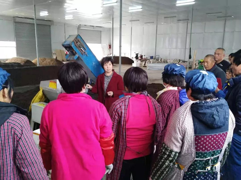 陕西:三原县组织科技特派员进行食用菌