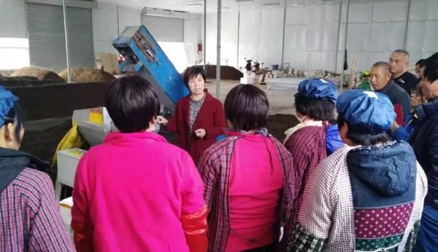 陕西三原县组织科技特派员进行食用菌栽培专项培训
