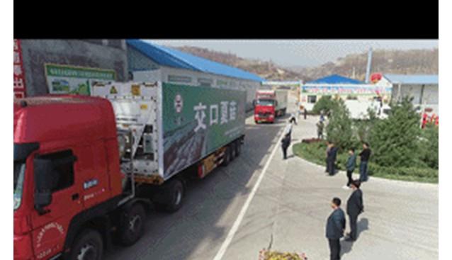 外贸破零!交口县韦禾公司菌棒出口韩国