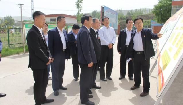 国务院扶贫办副主任、党组成员陈志刚赴陇县宏盛农牧有限责任公司调研工作