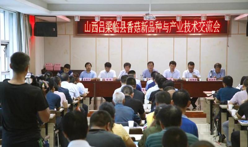 山西临县成功举办香菇新品种与产业技术交流会