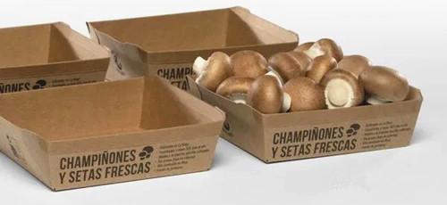 西班牙企业成功研发出用纸板包装栽培蘑菇的配方