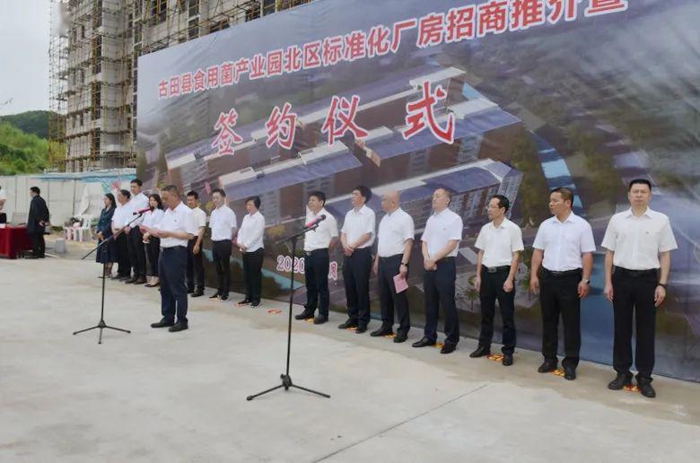 福建:总投资2.35亿元!7个项目签约入驻古田县食用菌产业园