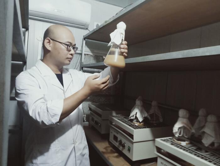 罗浩志:坚持创新发展 撬动食用菌大产业