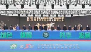 第五届京津冀食用菌产销对接大会在河北省饶阳县顺利召开