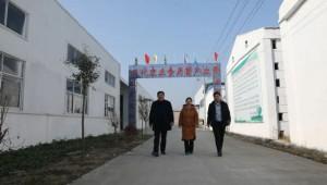 河南省夏邑县党史办调访组慕名调访食用菌产业助扶贫工作