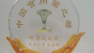 """高益槐教授荣获""""中国食用菌之都""""终身成就奖"""