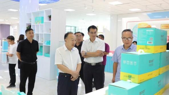 河北省盐山县政协视察食用菌种植项目开展情况